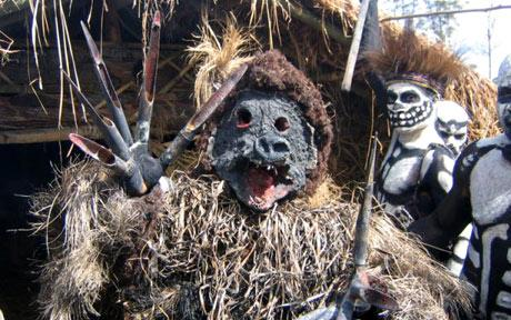 Vrăjitoare canibală în Senegal