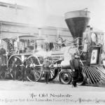 Trenul fantomă al lui Abraham Lincoln