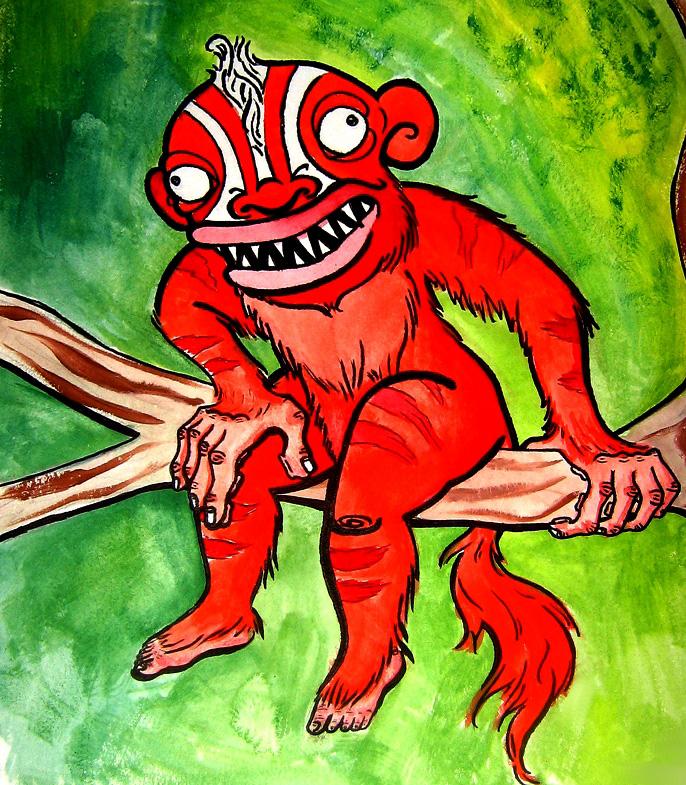 Yara-ma-yha-who, demonul care stă la pândă
