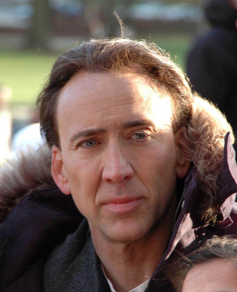 Nicolas Cage - foto de Kirk Weaver sursa Wikipedia
