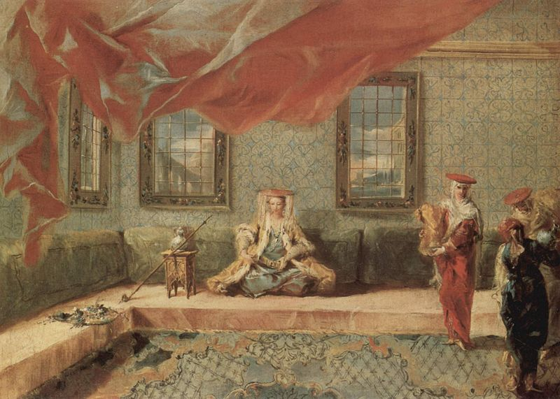pictura de Giovanni Antonio Guardi sursa Wikipedia