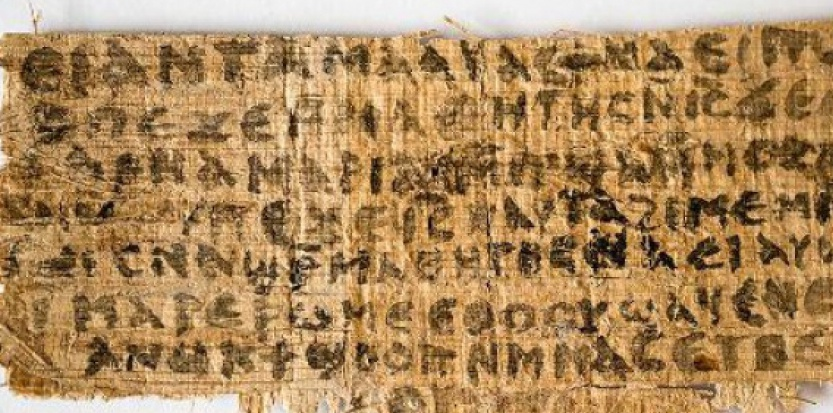 Un papirus egiptean foarte vechi susţine că Iisus avea soţie