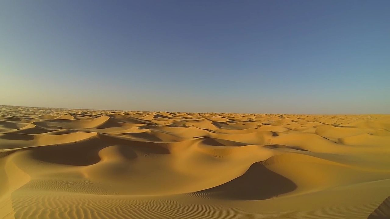 De când este Sahara un deşert?
