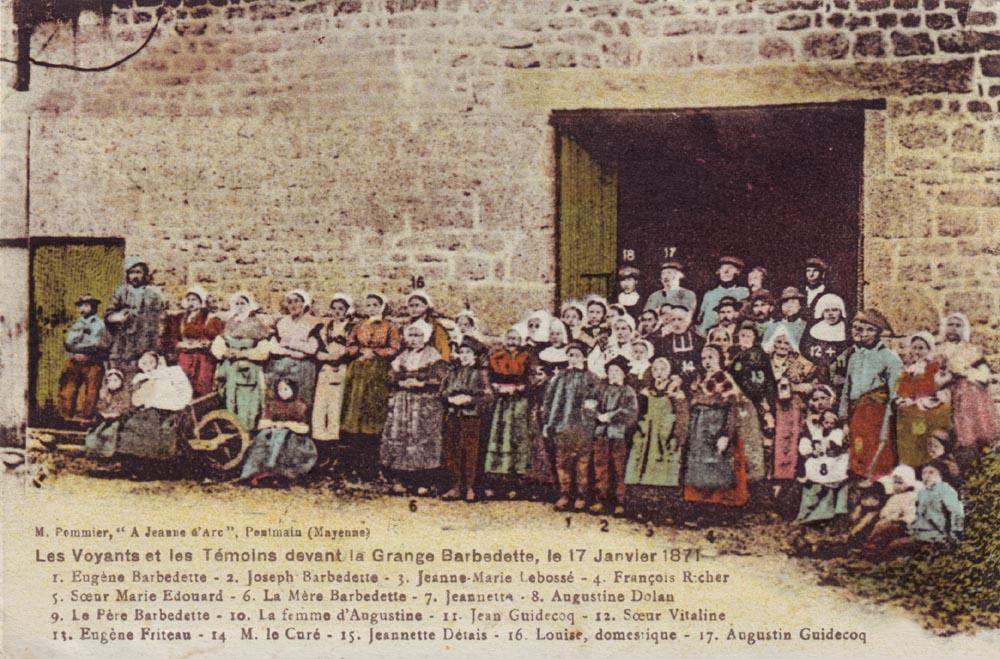 Apariţia Fecioarei Maria a fost admirată de copiii din Pontmain