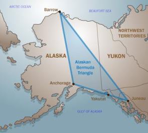 Triungiul Bermudelor din Alaska