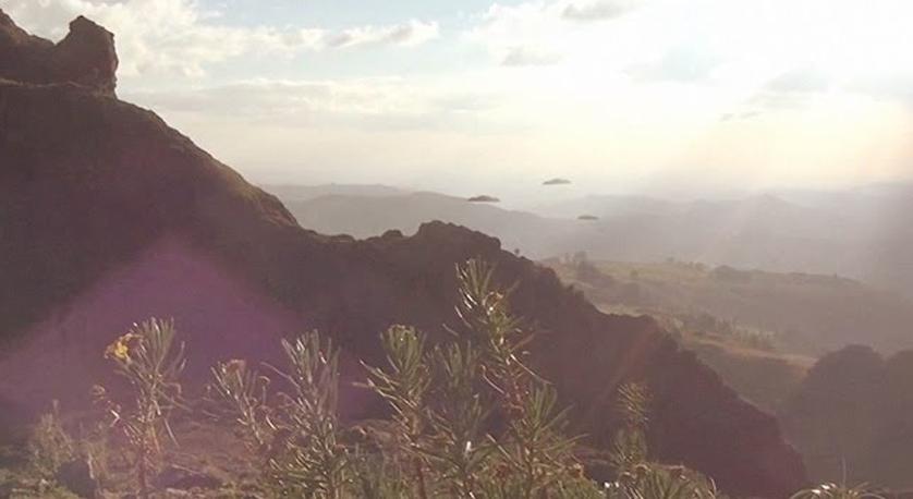 OZN-uri zburând în iulie 2016 peste Etiopia