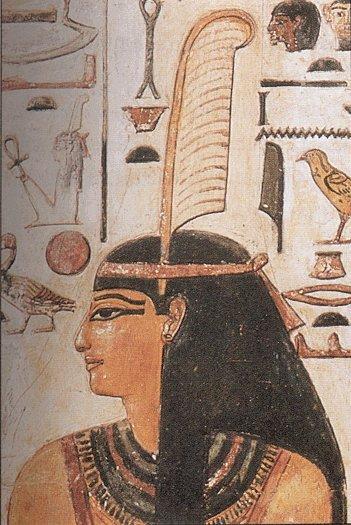 Zeiţa egipteană Maat pentru Eternitate