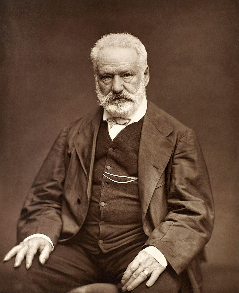 Victor Hugo despre a se târâ în noroi